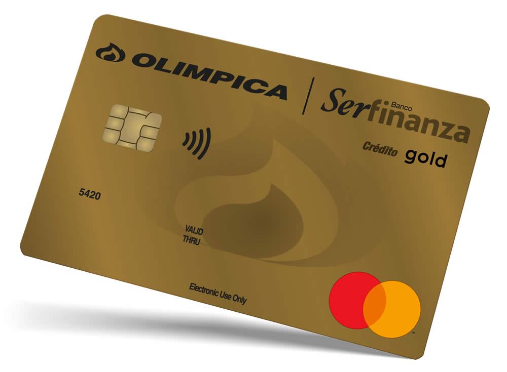 tarjeta de crédito olímpica gold serfinanzas