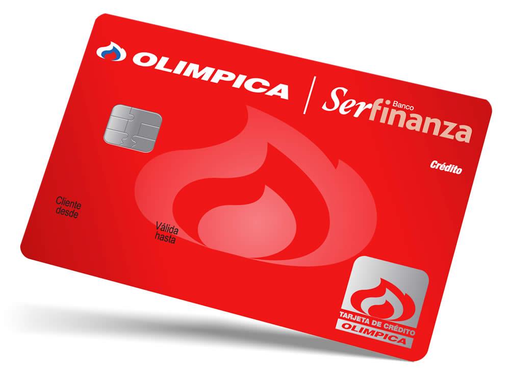 tarjeta de crédito olímpica serfinanzas